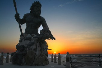King Neptune statue in Virginia Beach