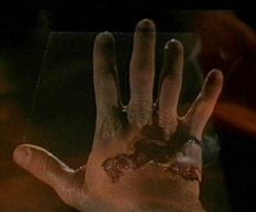 "Paul's hand ""burning"""