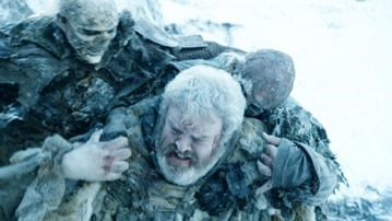 Hodor and White Walkers