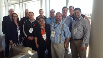 You meet the strangest people at InfoGovCon and this year was no execption. (Love all these people)