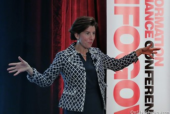 Governor Raimondo speaks at InfoGov17