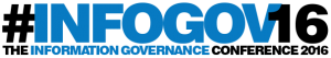 InfoGov16, The Information Governance Conference, Logo